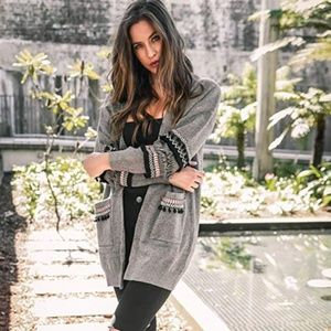 New! Women's Detailed Knit Cardigan Size S-XL